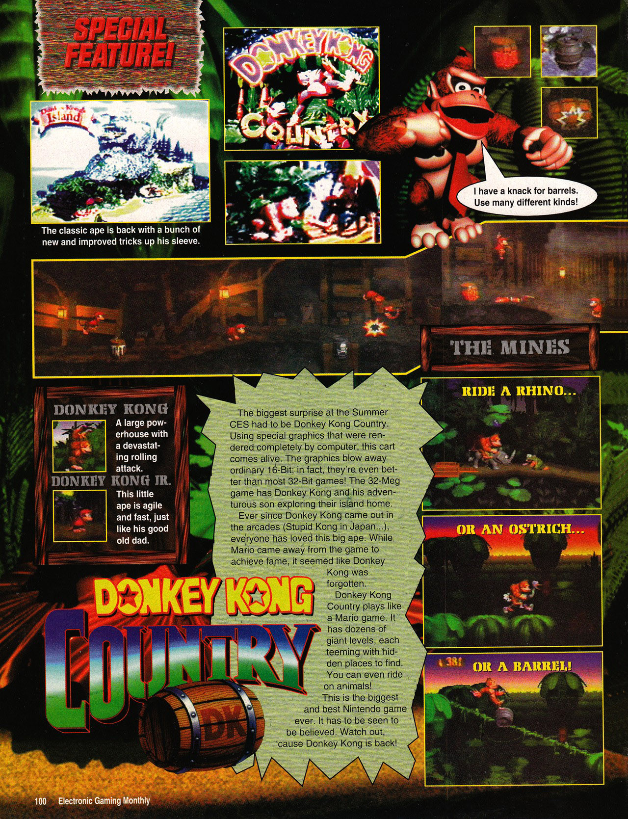 Donkey Kong preview
