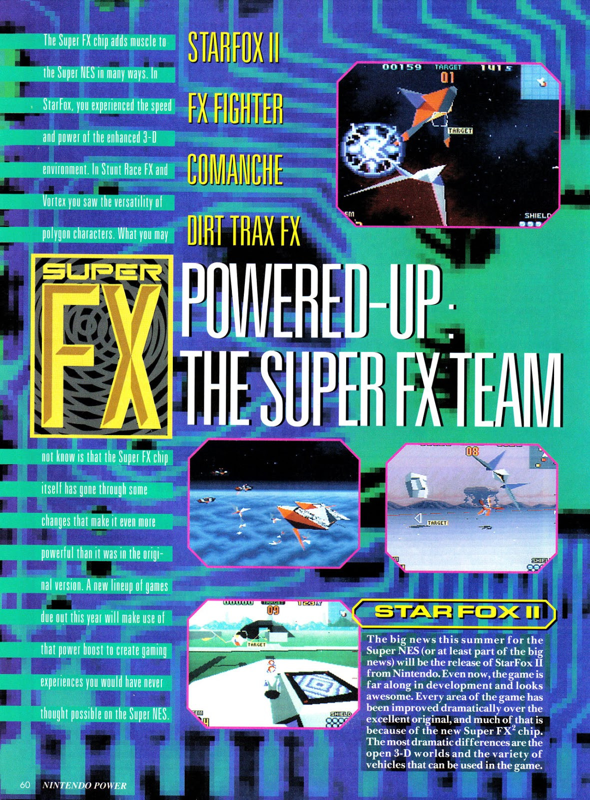 Nintendo Power #69 Fx-1