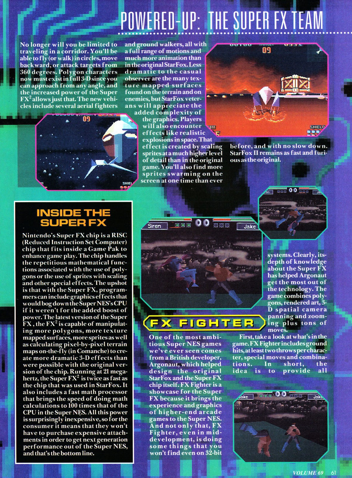 Nintendo Power #69 Fx-2