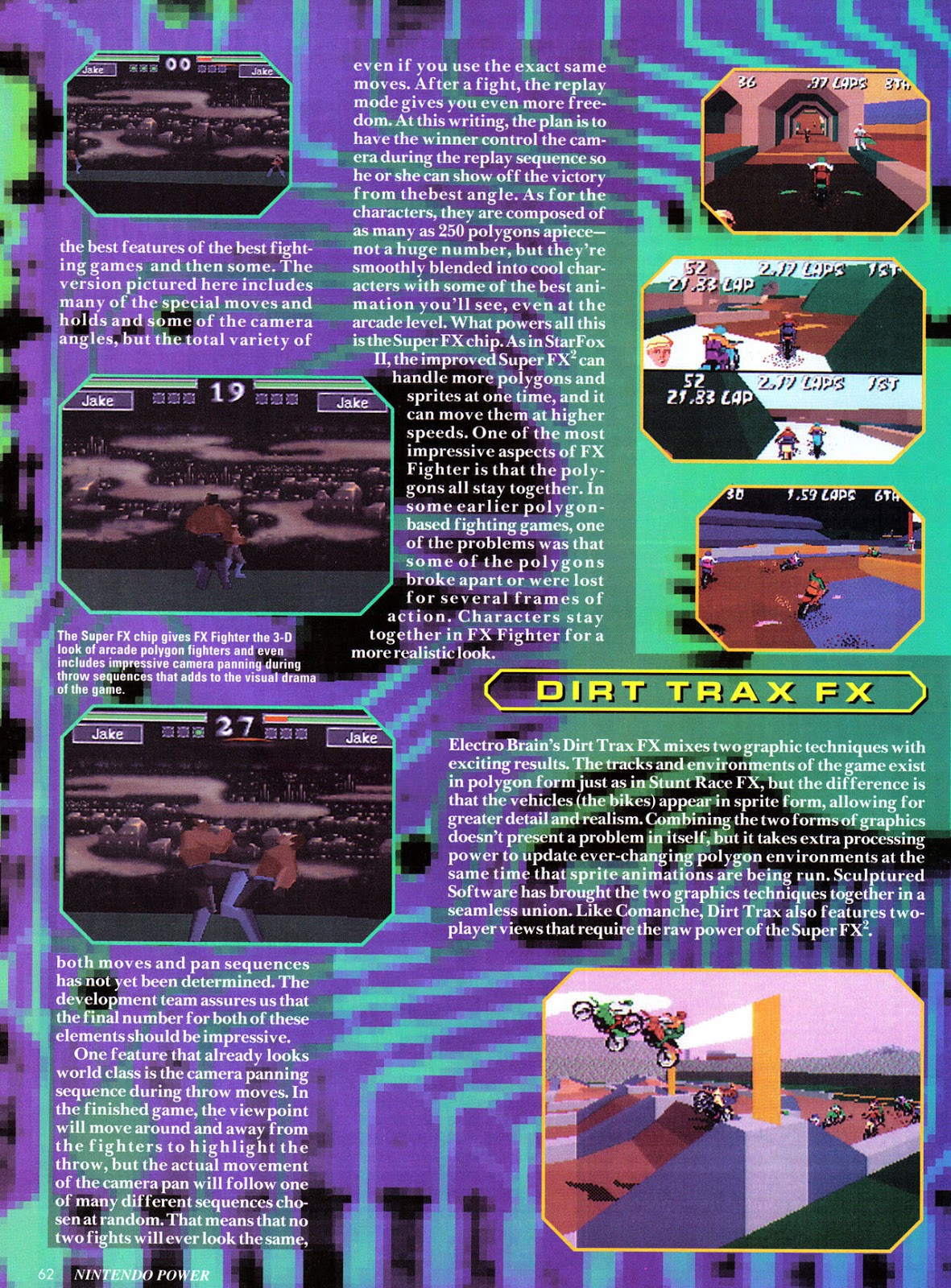 Nintendo Power #69 Fx-3