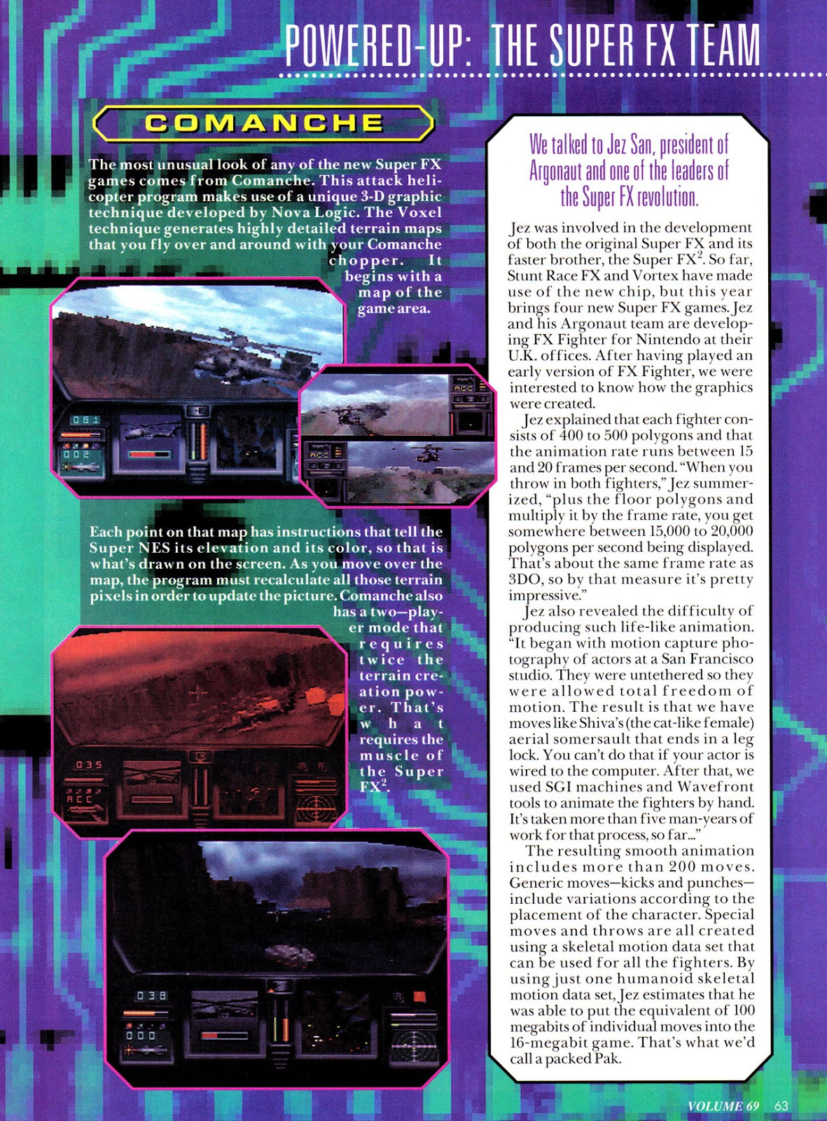 Nintendo Power #69 Fx-4